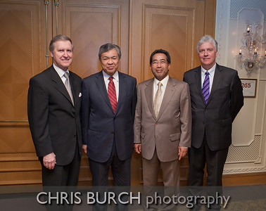 (left-right) William Cohen (former US Secretray of Defense) Dr. Ahmad Zahid Hamidi (Malaysian Minister of Defense) Dr. Jamaludin Jarjis (Malaysian Ambassador to the US) Grant Rogan (CEO, Blenheim Capital Partners)