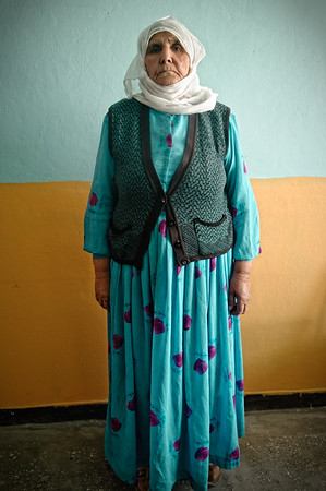 Siti Sen, mother of a political prisoner. Siirt, July 2008.