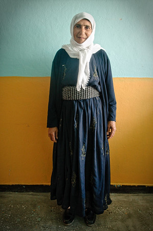Sultan Saraç, mother of a political prisoner.Siirt, July 2008.
