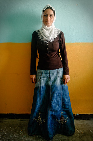 Zeinep Altin, wife of a political prisoner. Siirt, July 2008.