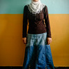 Zeinep Altin, wife of a political prisoner. Siirt, July 2008.