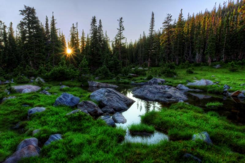The Hike from Lake Helene (Rocky Mountain National Park)