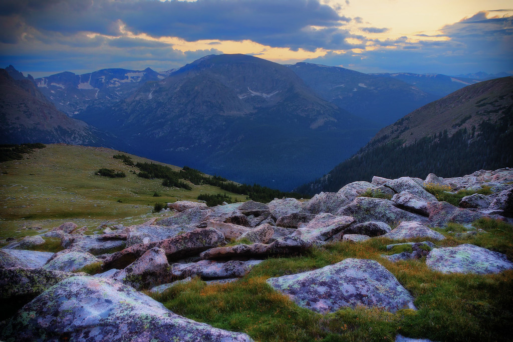 View from the Ute Trail (Rocky Mountain National Park)