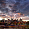 Denver<br /> <br /> Sunrise. With Clouds.  And other stuff....