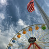 Denver<br /> <br /> Elitch Gardens Ferris Wheel during the day.
