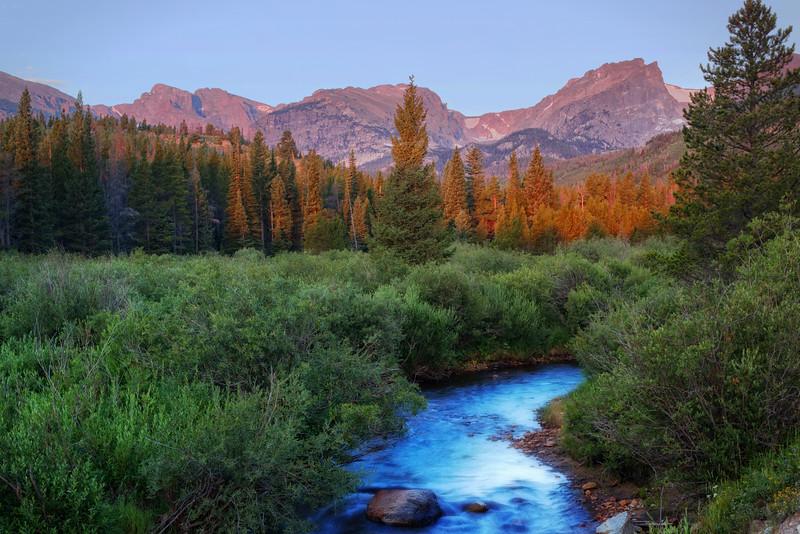 River to Hallet Peak (Rocky Mountain National Park)