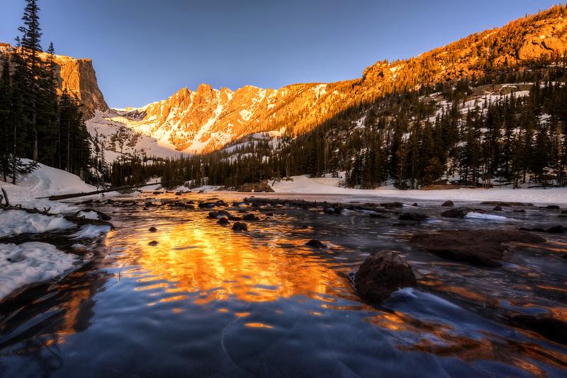 Frozen Dream Lake (Rocky Mountain National Park)