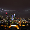 Denver<br /> <br /> Lightning Bolts over Skyline