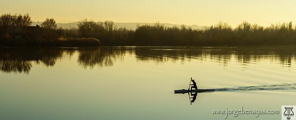 Paleo en canoa