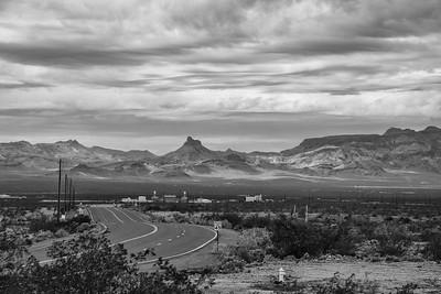 On a Desert Highway