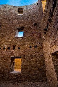 Interior Multi-story Interior Room - Chaco Canyon National Historic Park - New Mexico