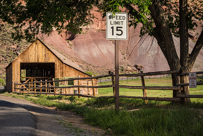 Gifford Homestead Barn - Capitol Reef National Park - Fruita, Utah