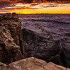 Martian Landscape Sunrise - Southeastern Utah