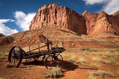 Historic Wagon - Capitol Reef National Park - Fruita, Utah