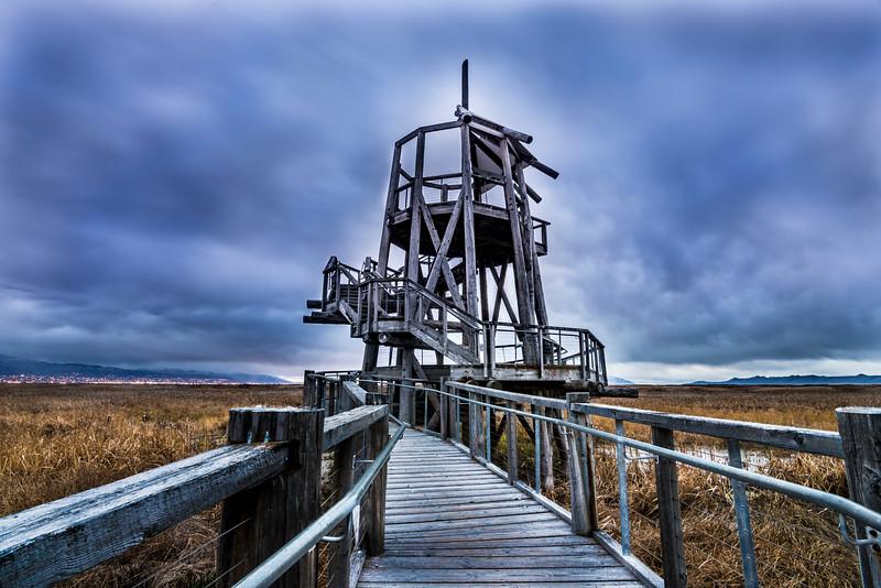 Observation Tower - Great Salt Lake Shorelands Preserve - Utah