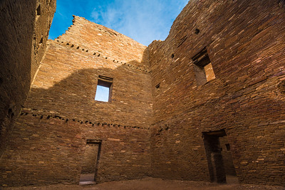 Multi-story Interior Room - Chaco Canyon National Historic Park - New Mexico
