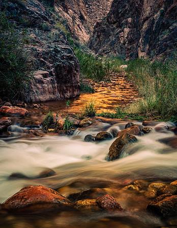 Phantom Creek at Bright Angel