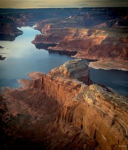 Lake Powell Aerial Shot