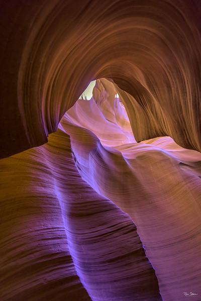 Curves of Antelope Canyon