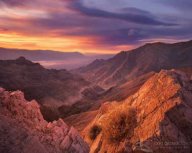"""AGUEREBERRY POINT""Death Valley, CaliforniaWarm reflected light from the sunrise gives glos to the soft rock and valley below.© Chris Moore - Exploring Light PhotographyPURCHASE A PRINT"