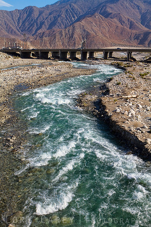 Whitewater River in the Coachella Valley, California
