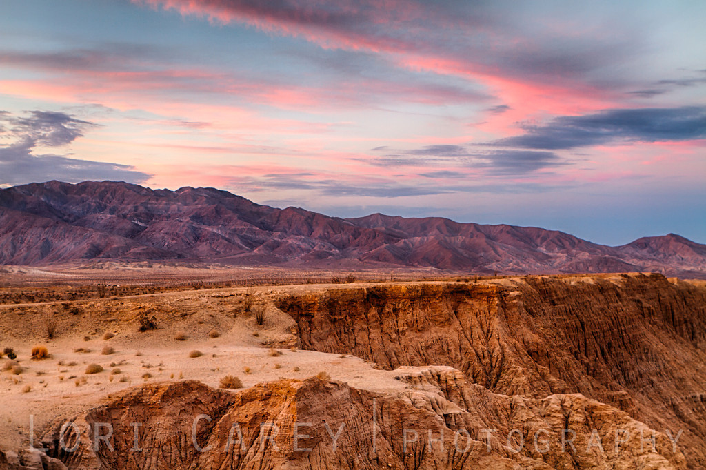 Sunset at Font's Point, Anza-Borrego Desert State Park