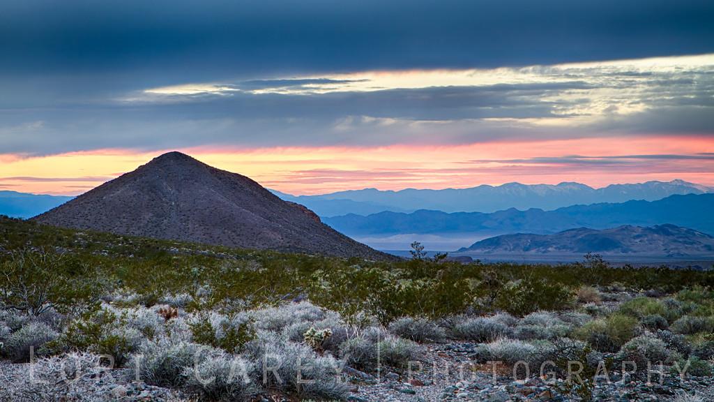 Mojave blue hour