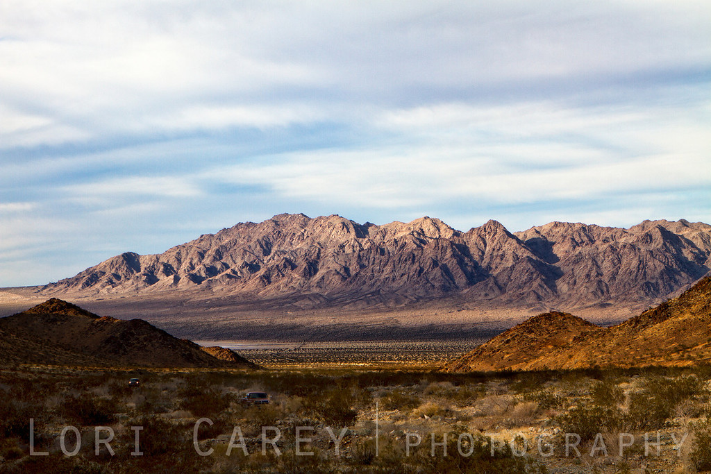 Sheephole Mountains in TwentyNine Palms, California