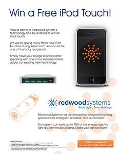 iPod Giveaway flyer