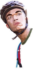 AJ Biking Portrait