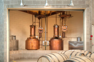 Stranahans Architecture Copper Stills