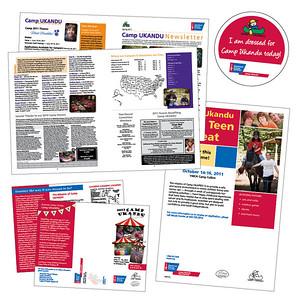 American Cancer Society Camp Ukandu materials