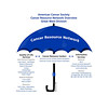 American Cancer Society<br /> Cancer Resource Network Umbrella of programs and services - showing how the CRN works.
