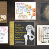 We include persoanloized cards for any occasion to attach to your design.