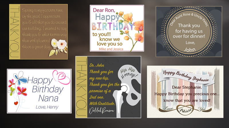 Personalized card and gift wrapped presentation....$60