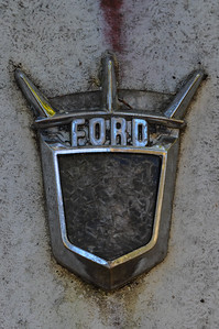 1956 Ford Badge