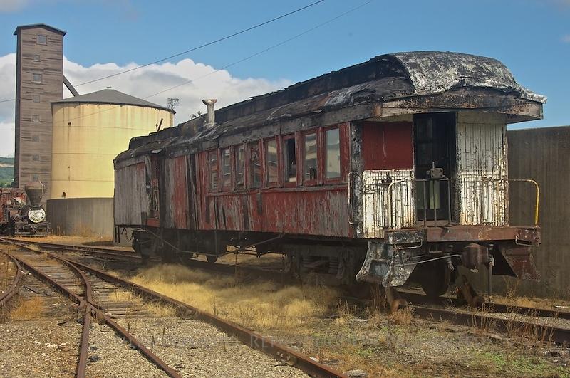 Passenger Coach - Steamtown,, Scranton, PA
