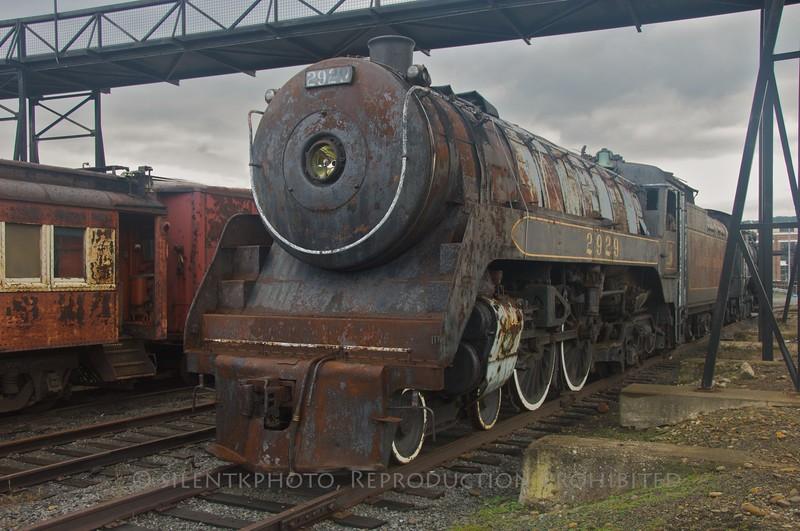 The Canadian Pacific Railway Locomotive # 2929