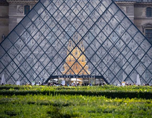 Louvre Symmetry