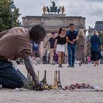 Paris Street Vendor