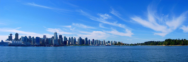 Vancouver Skyline from the Lynx Ferry