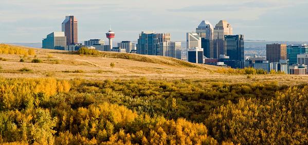 Calgary Skyline, Alberta, Canada, 2007