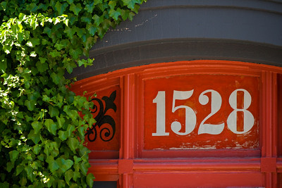 Halifax house number, downtown.