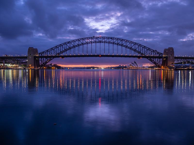 Harbor Bridge Sunrise