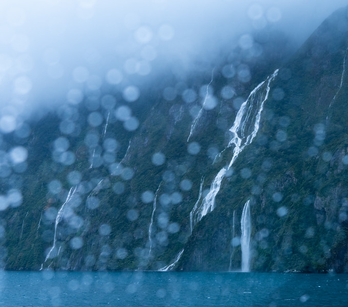 Waterfalls and Rain