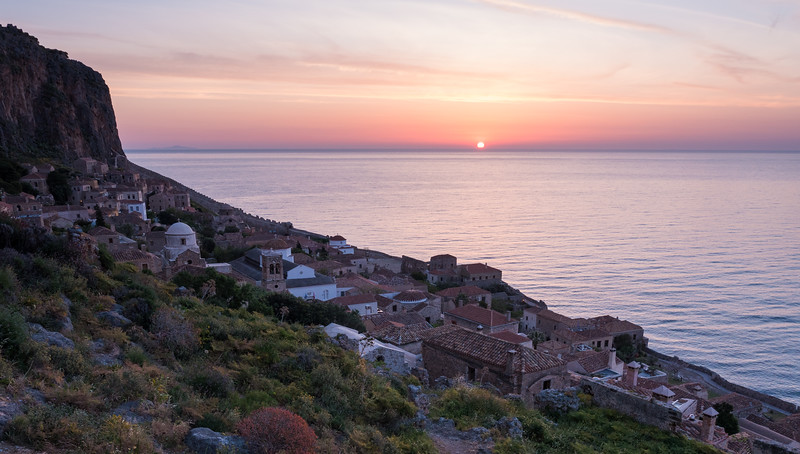 Monemvasia Sunrise