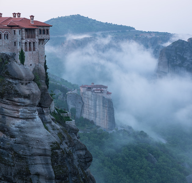 Monasteries and Clouds