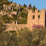 Mystras Castle Ruins