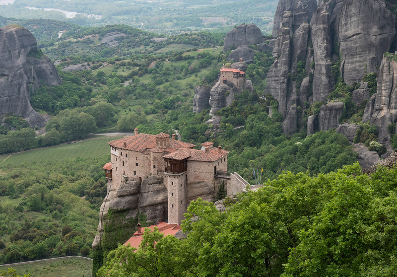 Monasteries of Roussanou and St. Nicholas Anapausas