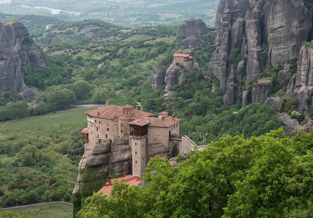 Monasteries of Roussanou and St. Nicholas Anapausas